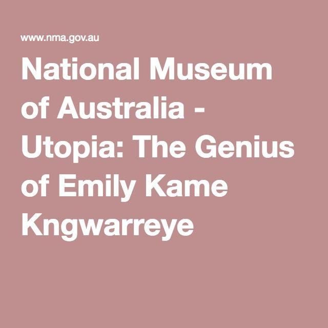 National Museum of Australia - Utopia: The Genius of Emily Kame Kngwarreye