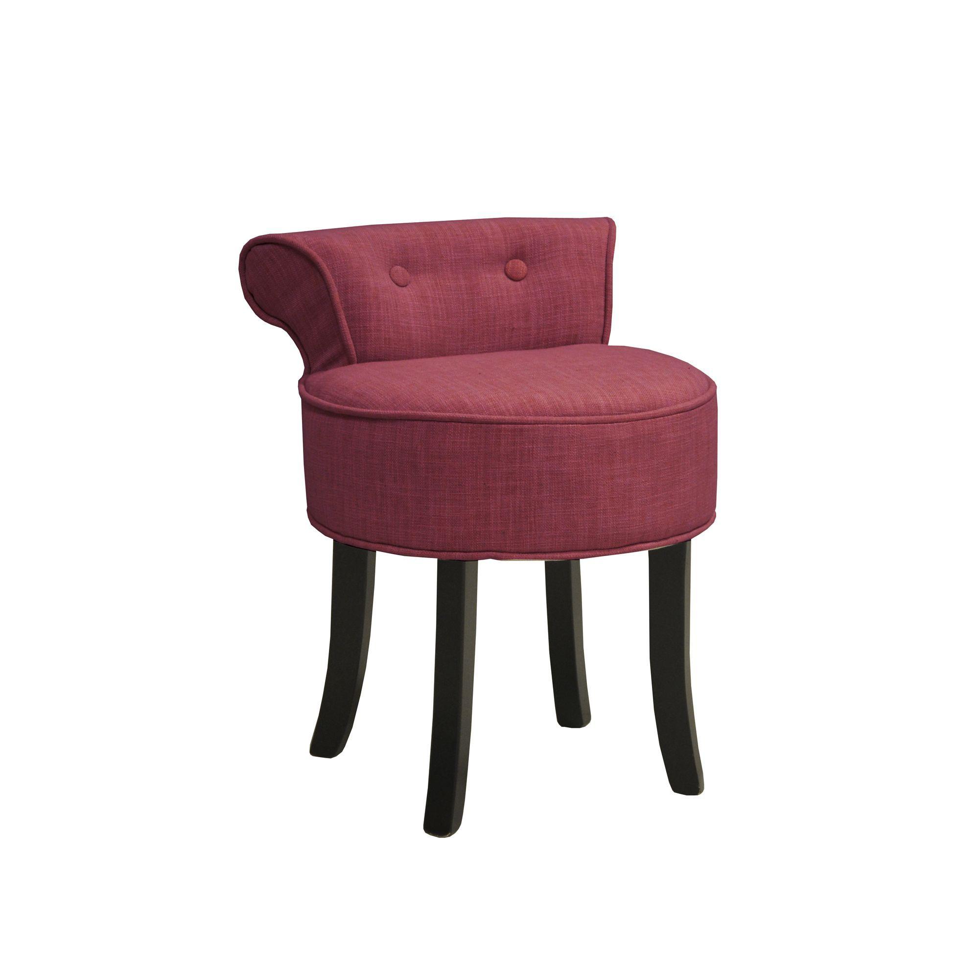 simple petit fauteuil boudoir rouge cerise cerise corazon les fauteuils fauteuils et poufs with. Black Bedroom Furniture Sets. Home Design Ideas