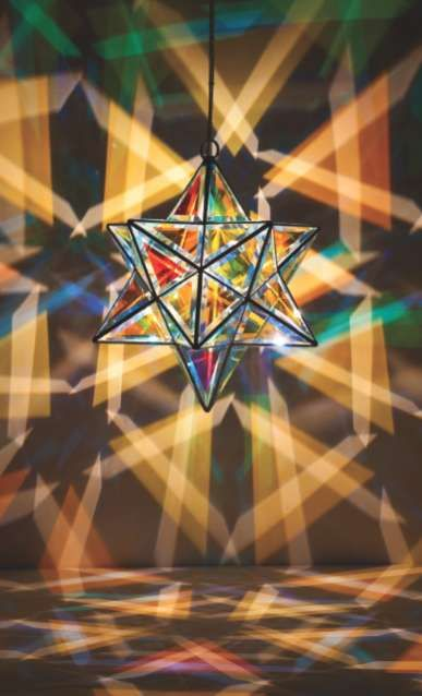 vibrantly geometric illuminators 3d design light sculpture rh pinterest com