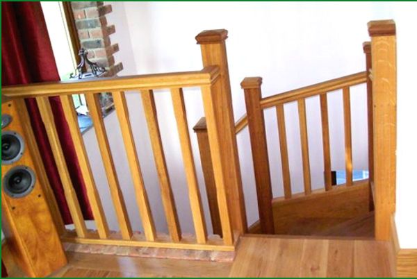 Best High View American White Oak Stairs Oak Stairs Oak 400 x 300