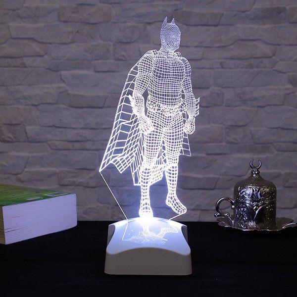 Batman 3d Acrylic Bedside Lamp Petagadget Bedside Lamp Batman Lamp Laser Engraved Acrylic