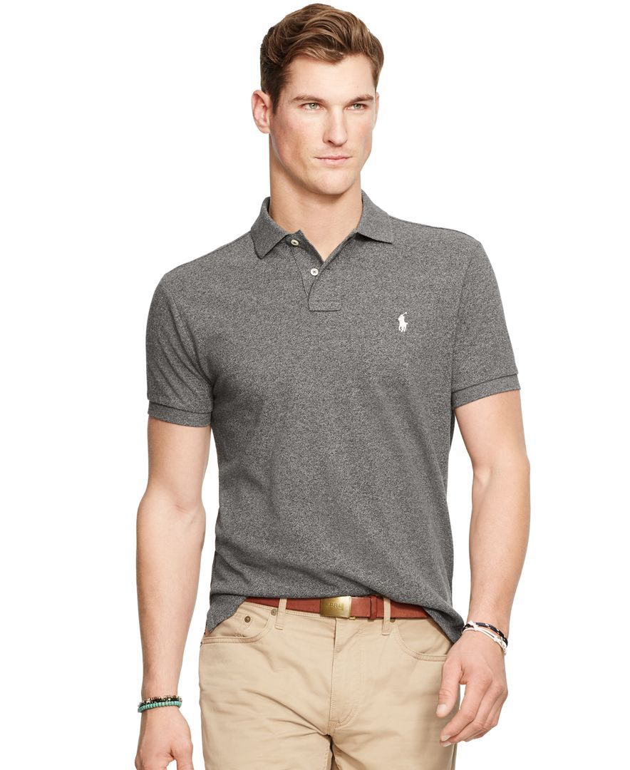 6afc15055 Polo Ralph Lauren Classic-Fit Mesh Polo Shirt | Clothes | Polo shirt ...
