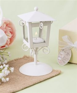 'LOVE LIGHTS THE WAY' VINTAGE CANDLE LAMP