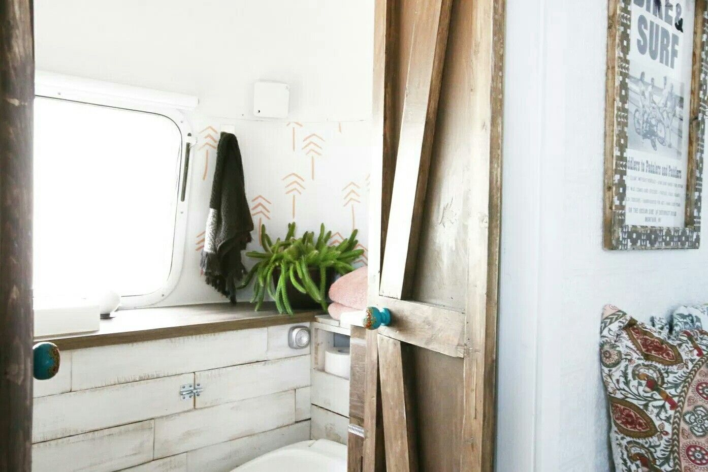 Vintage airstream tiny house airstream bathroom remodel