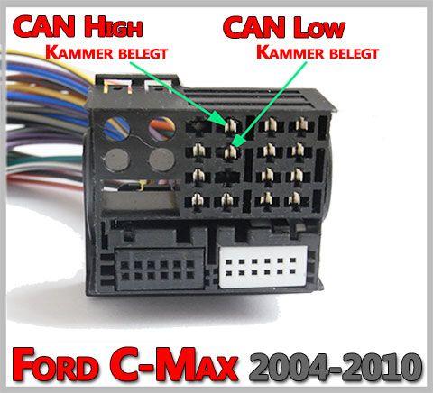 Ford C-Max Lenkradfernbedienung anschließen ohne CAN BUS | Ford