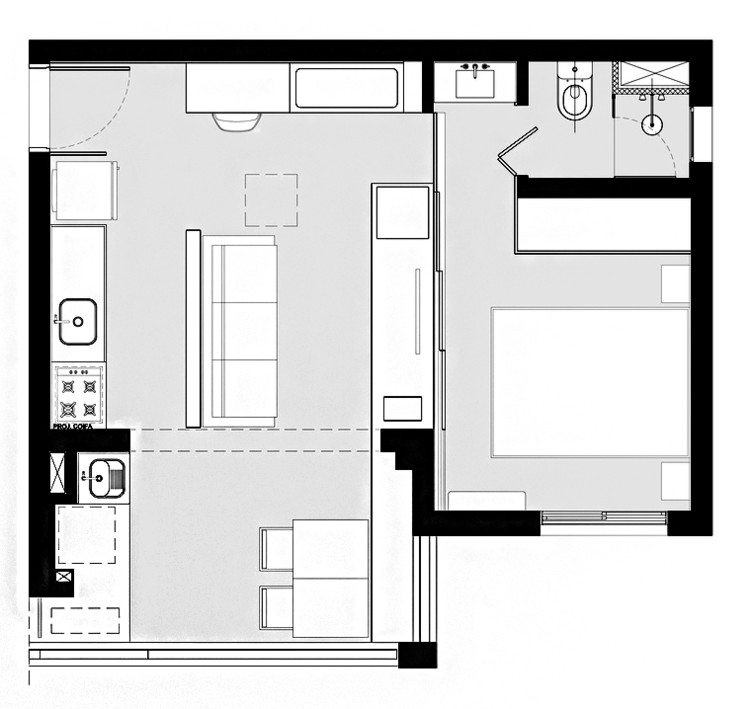 Home Design Smallhouse: Gallery Of House Plans Under 50 Square Meters: 26 More