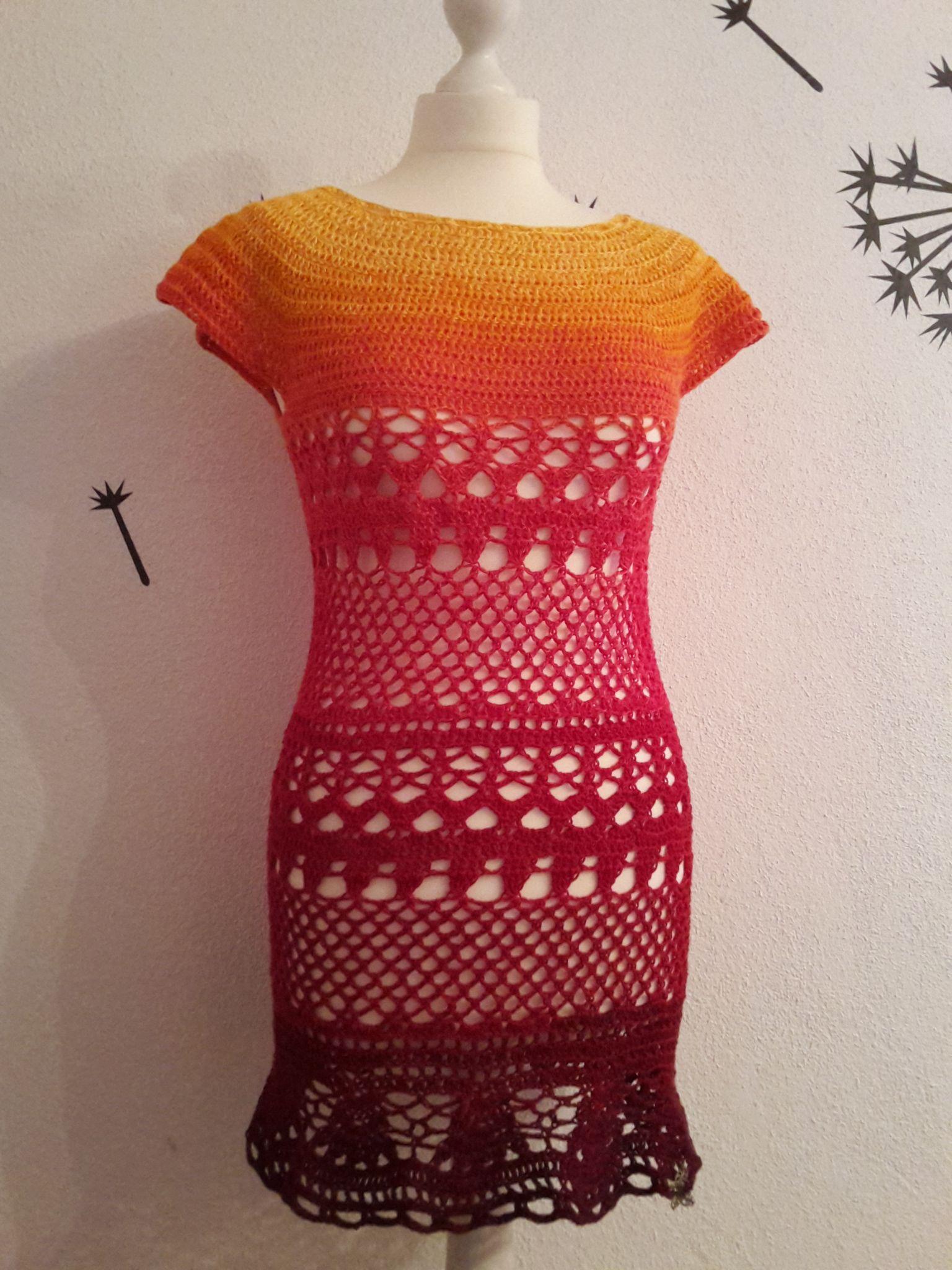 "Tunika ""Lacey Days""   Crochet, Crochet short dresses and Boy crochet"