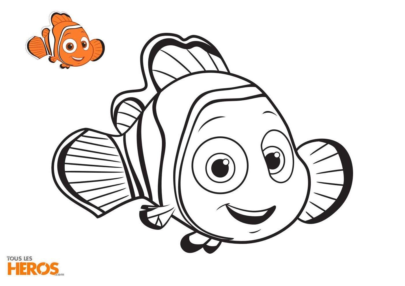 Coloriage En Ligne Nemo.Rejoignez Les Poissons Nemo Et Dory Et Tous Leurs Amis Dans Leurs