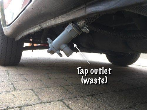 Van Conversion Water System Running Ford Transit Vanlife Legsandwheelstraveller