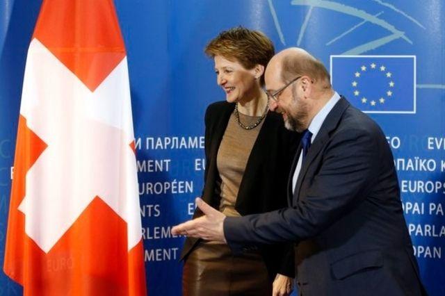 Martin Schulz en faveur d'une solution transitoire