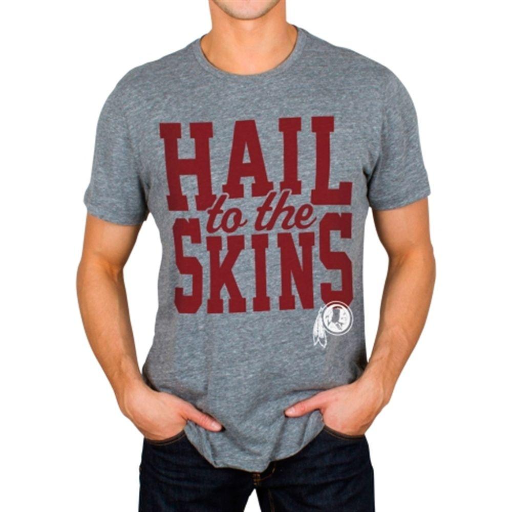 Junk Food Washington Redskins Steel Tri-Blend Touchdown T-Shirt ... e7ec6e23f