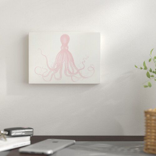 Photo of East Urban Home Mural Quartz Pink Octo by Coastal Print & Design | Wayfair.de