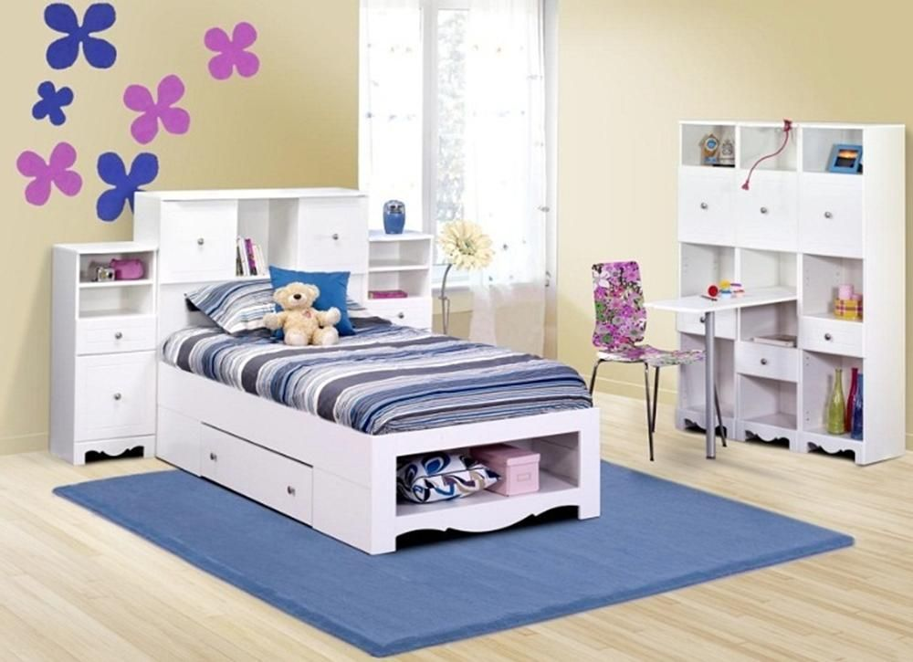 pixel white twin storage bed set for my girls twin storage bed rh pinterest com