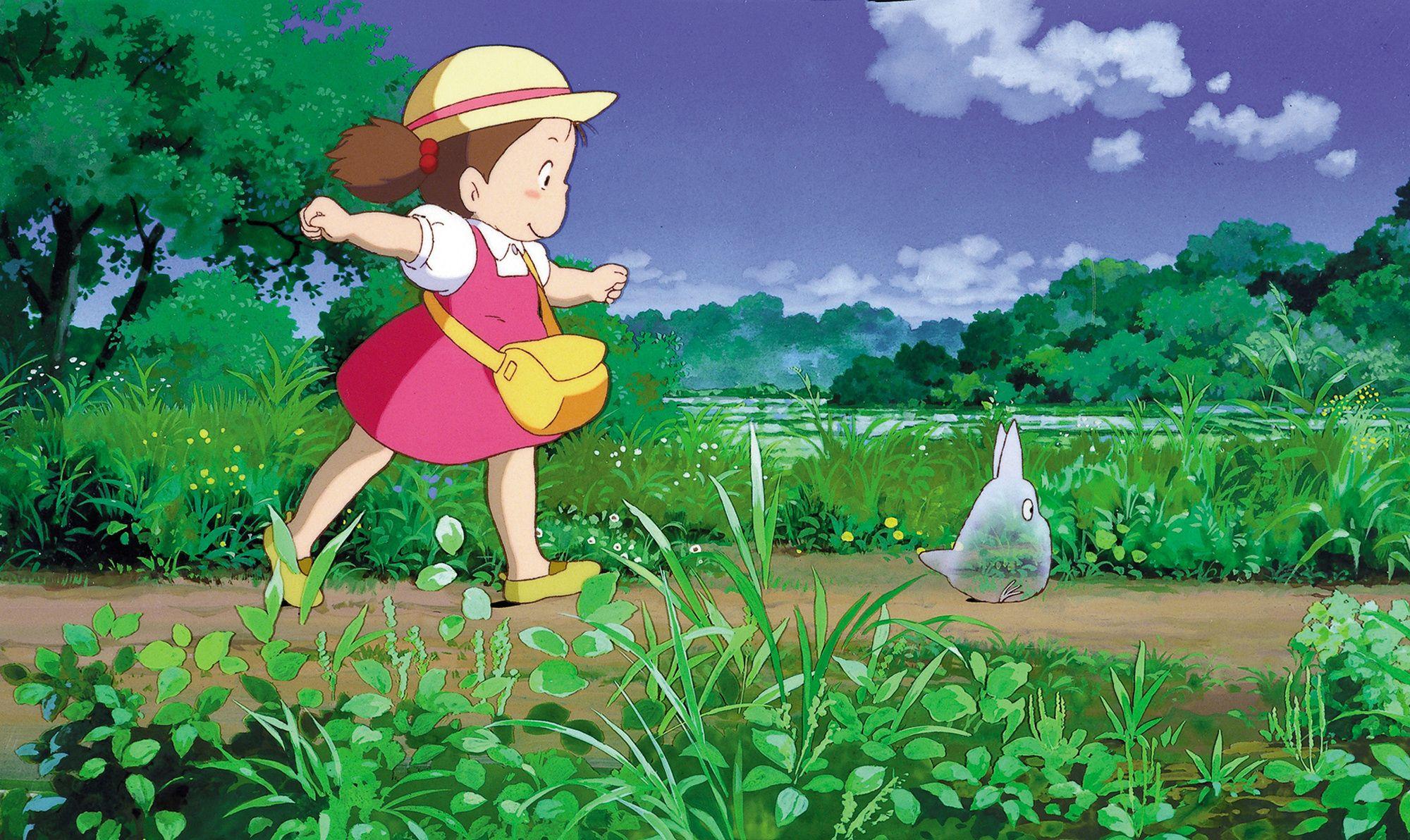 Tonari No Totoro Studio Ghibli Characters Studio Ghibli Totoro