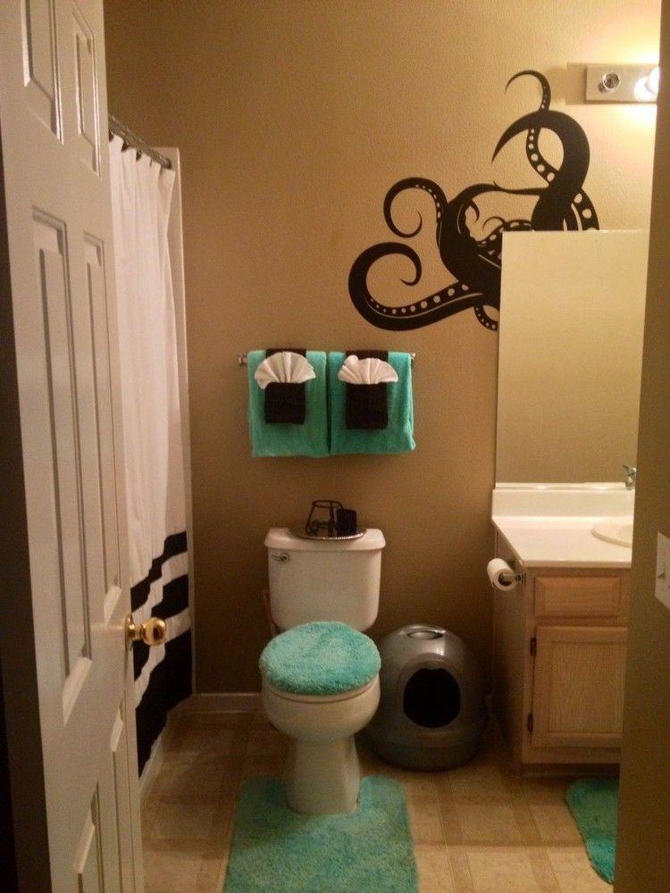 Octopus Bathroom Fancy Towel Folding Kid Bathroom Decor Pirate Bathroom Bathroom Design Decor