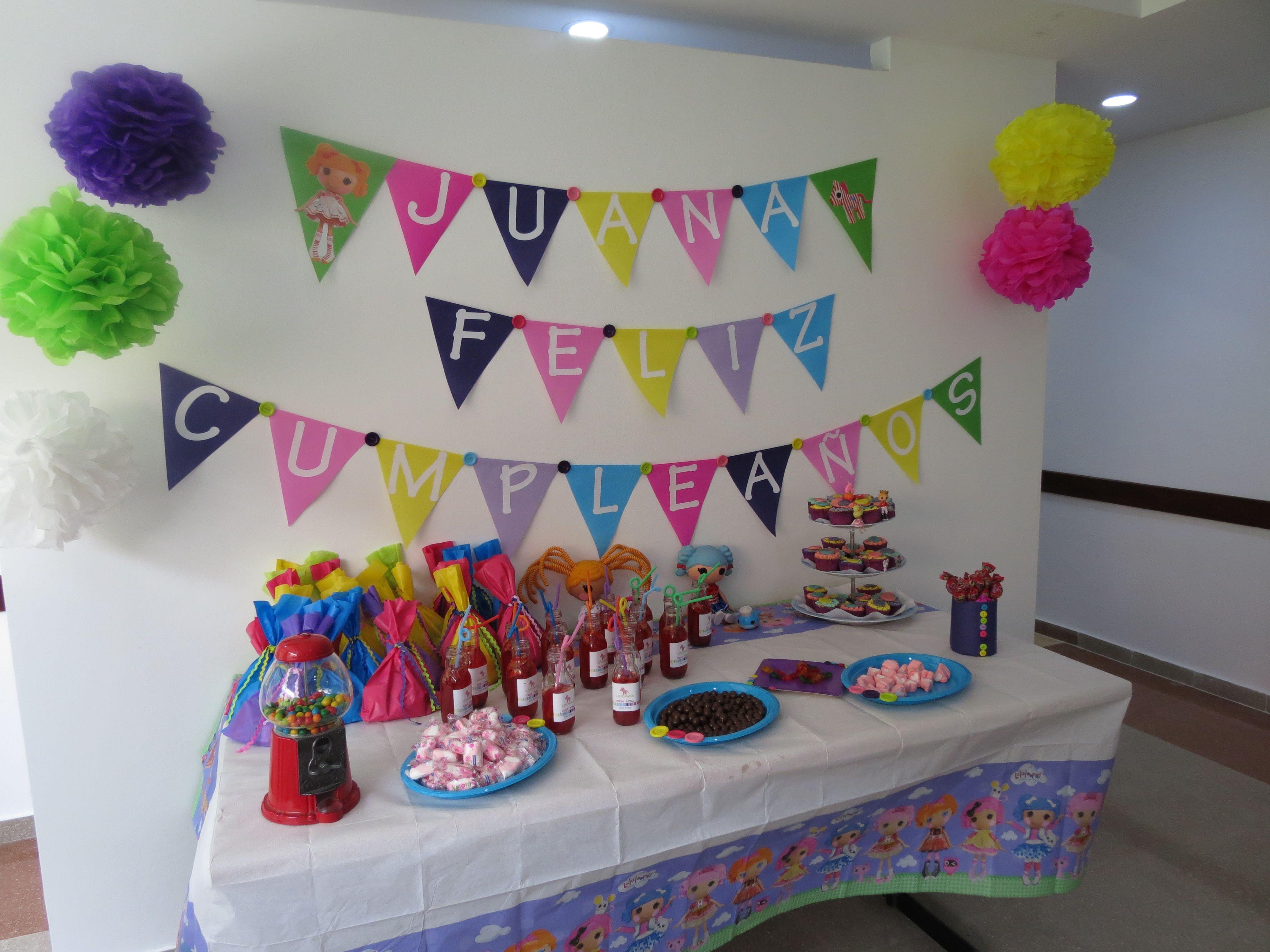 Cumpleaños Lalaloopsy