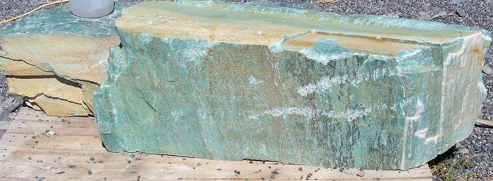 Natural turquoise stone .column