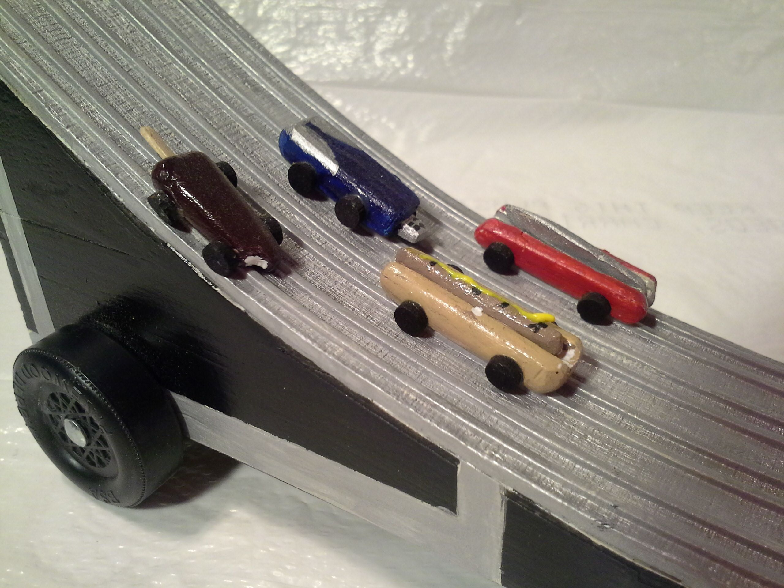 aluminum track pwd car showing 4 of my previous cars racing hot dog rh pinterest co uk