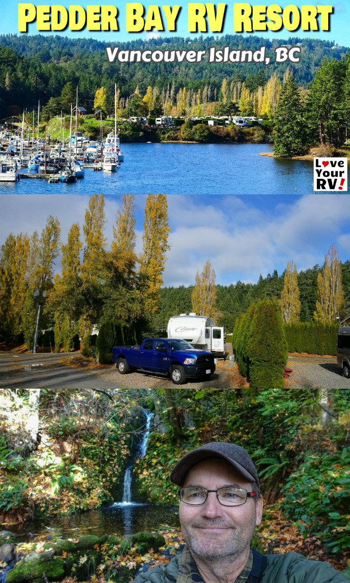 Pedder Bay Rv Resort Review Vancouver Island Bc Vancouver Island Resort Rv Travel Destinations