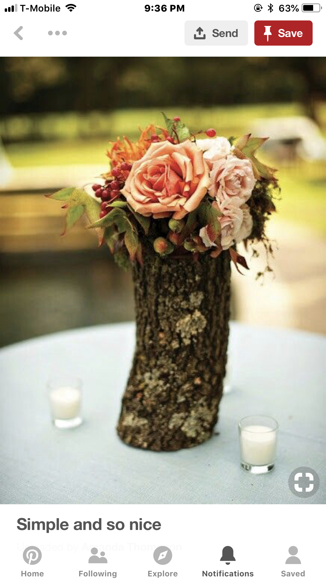 Homemade wedding decoration ideas  Pin by Cindy Price on Flowers  Pinterest  Silk flowers Flower