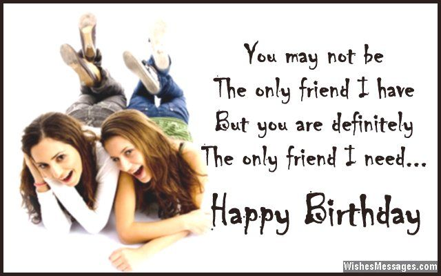 Thanks Grace Birthday Quotes For Best Friend Happy Birthday Bestie Best Friend Quotes