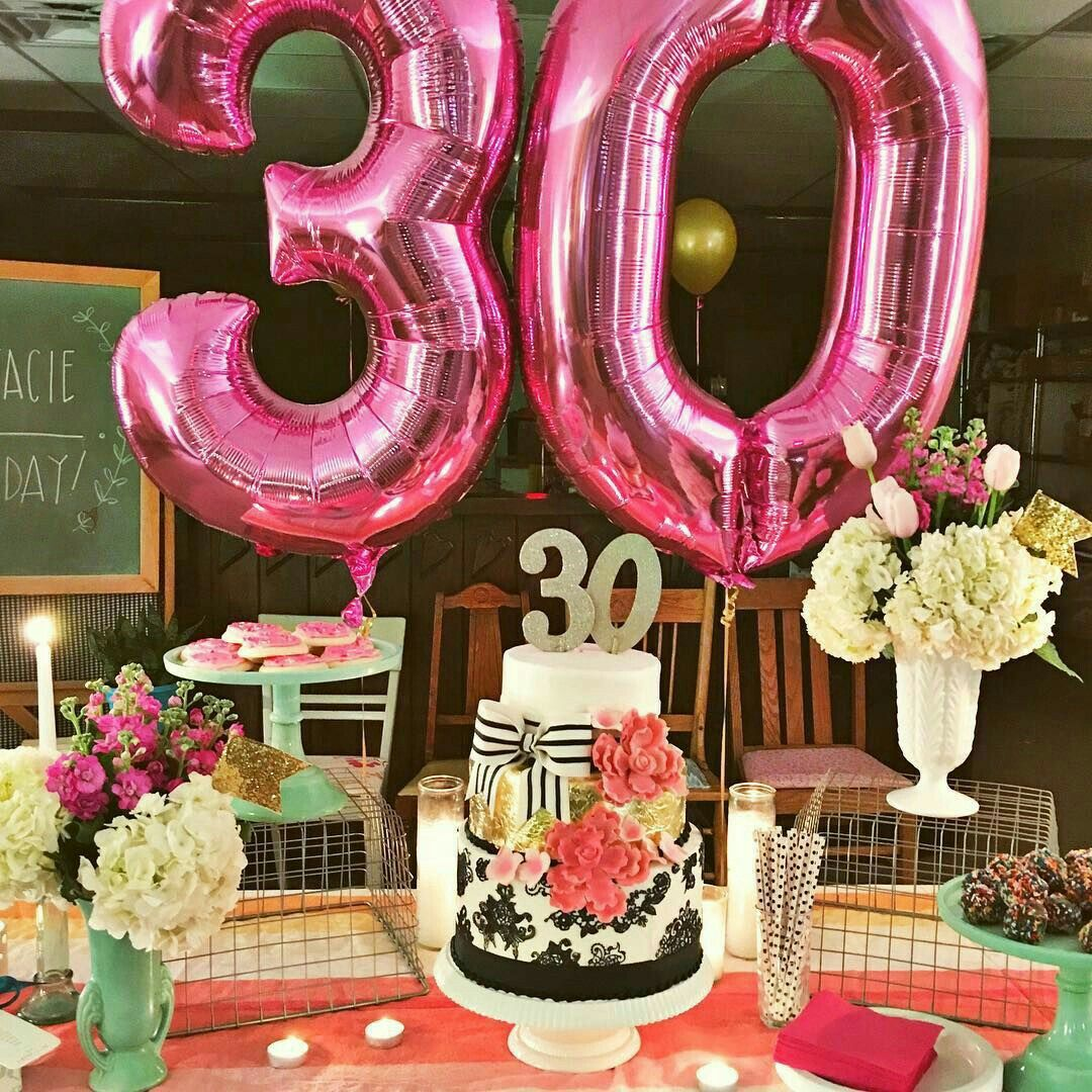 30th Birthday Parties Party Ideas For Women Happy 30