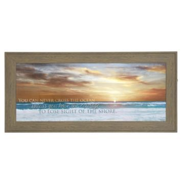 Cross The Ocean Framed Art Print Beach Art Framed Art Prints Framed Art
