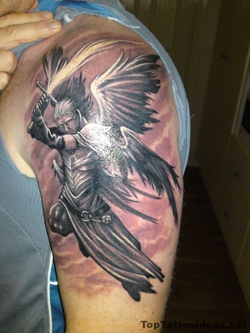Masculine tattoos designs - Cool Male Half Sleeve Tattoo Ideas