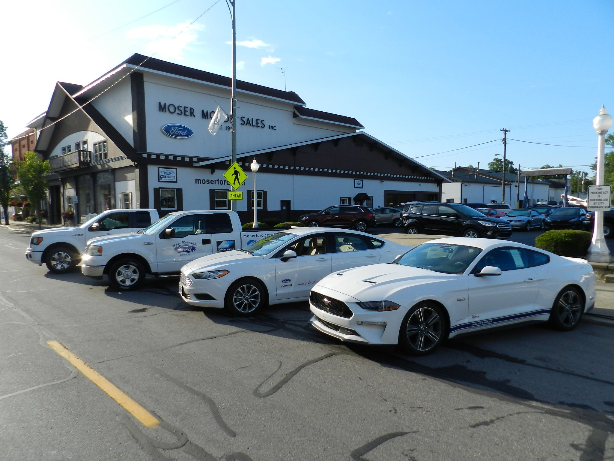 Moser Motor Sales Moser Ford Or Moser Motors In Berne Indiana