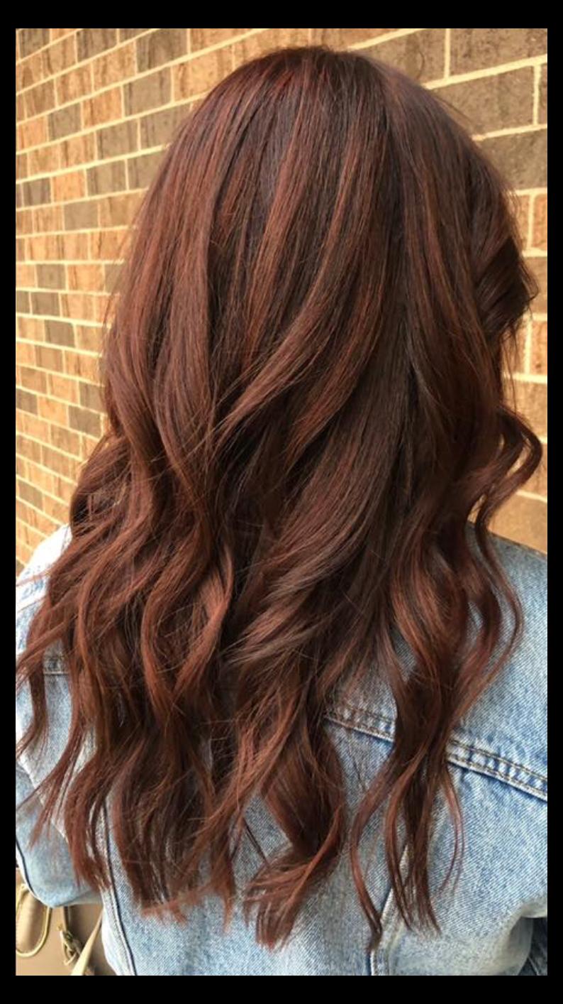 medium brown red hair color