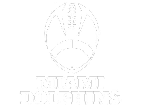 printable miami dolphins coloring sheet