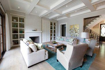 A Lake Home - Transitional - Living Room - Atlanta - Norwood Architects