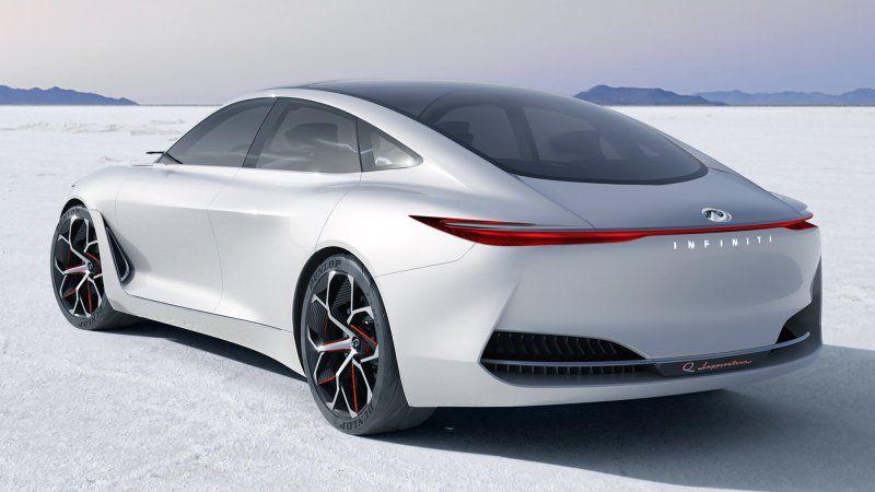 infiniti q inspiration concept is a swoopy luxury sedan techtly rh pinterest co uk