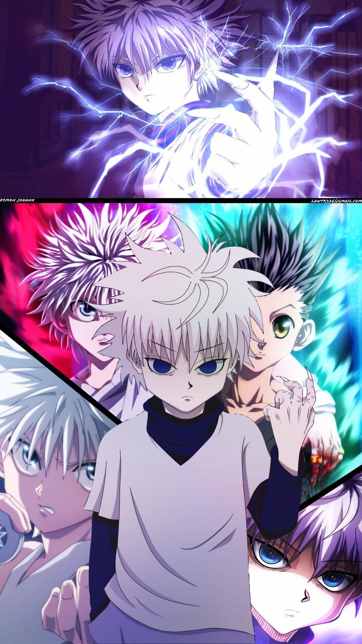 Killua Zoldyck Fond D Ecran Dessin Art Jeu De Cartes Illustrations Animees