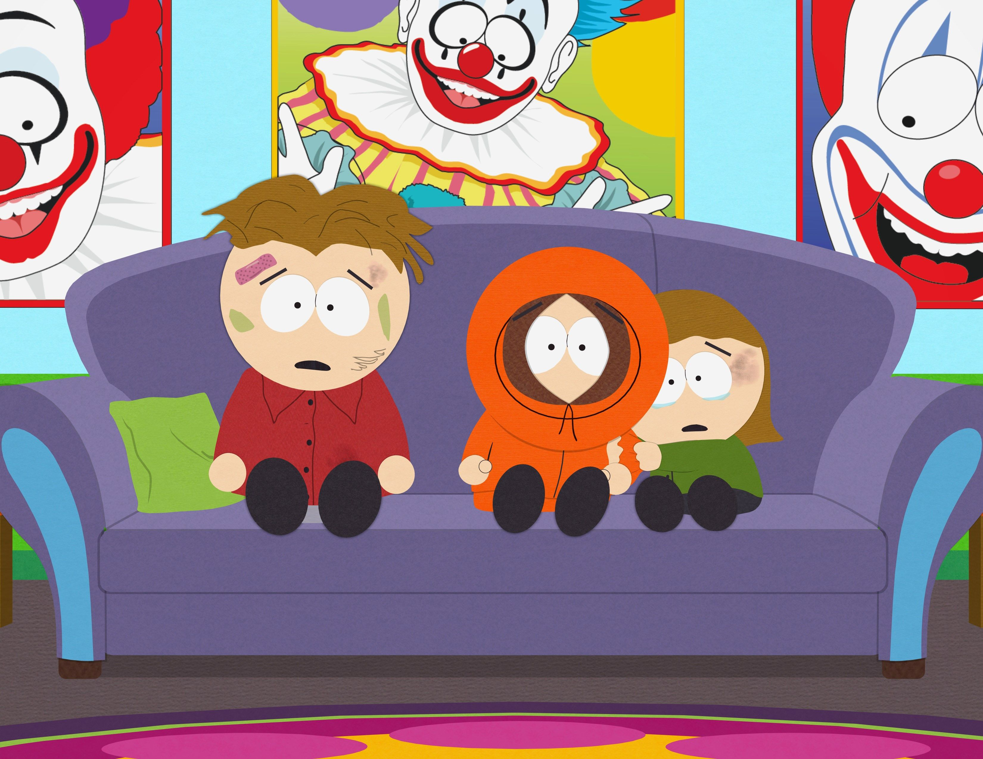 This Is A Photo From A Show Called South Park