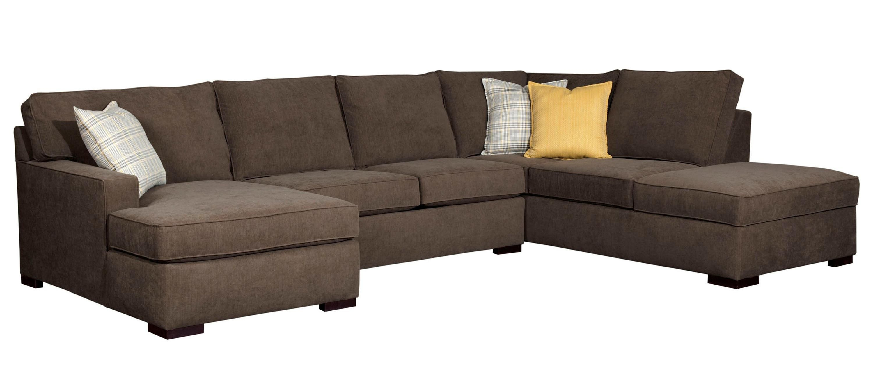 Raphael Three Piece Sectional Sofa by Broyhill Furniture