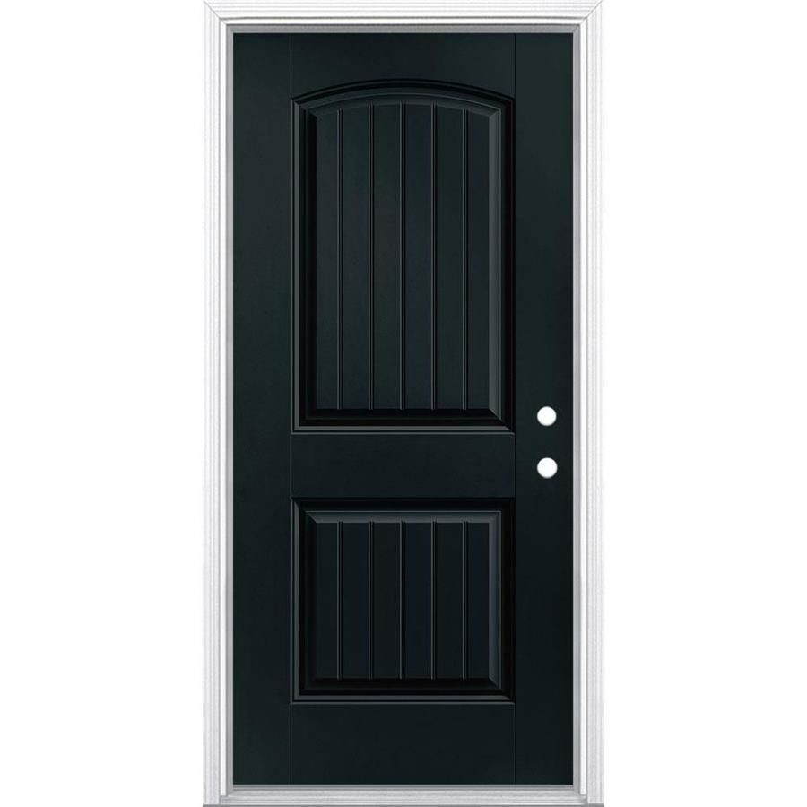 Masonite 36 In X 80 In Left Hand Inswing Eclipse Painted Fiberglass Prehung Entry Door With Insulating Core Lowes Com Entry Doors Masonite Easy Install Doors 826 masonite exterior doors products are offered for sale by suppliers on alibaba.com, of which doors accounts for 3%. pinterest