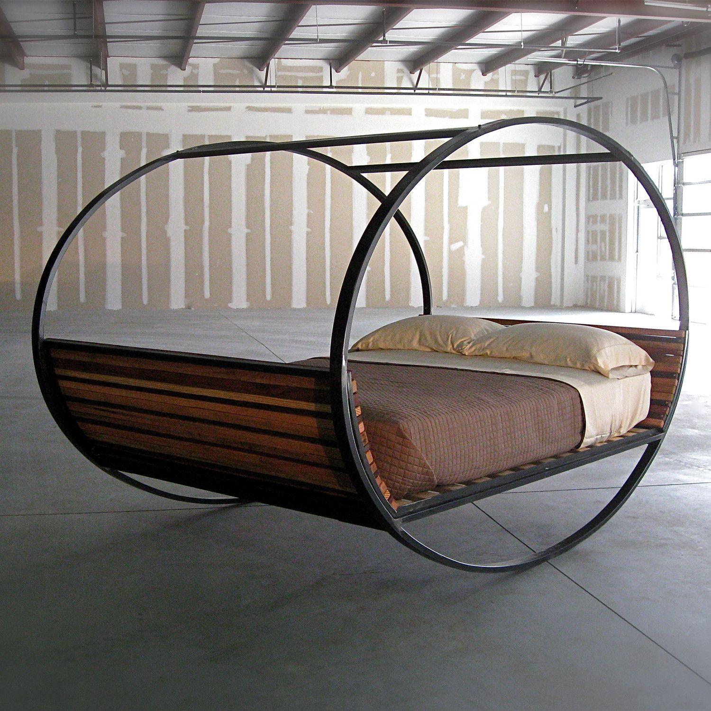 Mood rocking bed architecture interior m belideen for Ausgefallene mobel