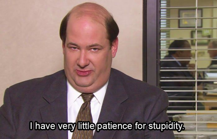 Kevin Malone The Office Quotes 4 Kevin The Office Office Quotes Funny Office Quotes