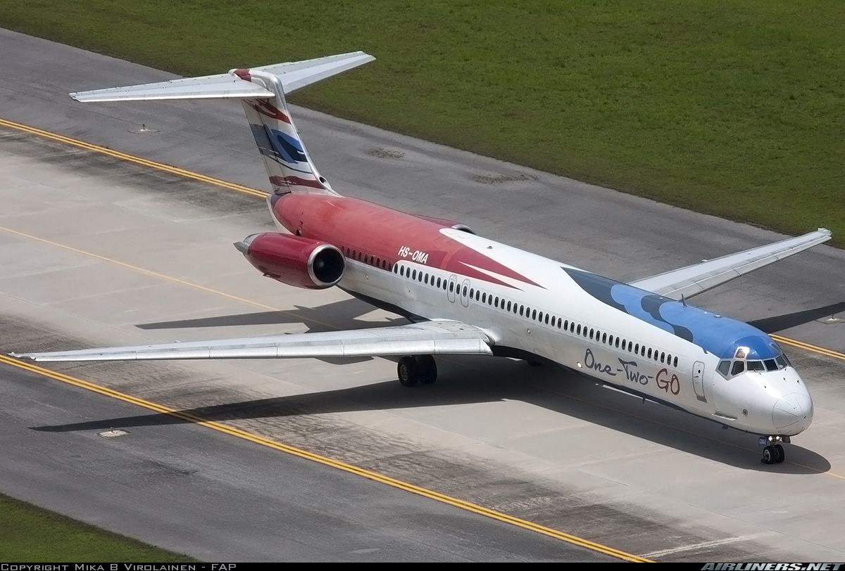 Md 82 Dc 9 82 One Two Go Thai Airline Airlines Aviation