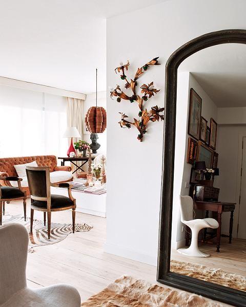 Modern Retro in Barcelona, Mid-Century Modern Apartment Interior ~ Interiors and Design Less Ordinary