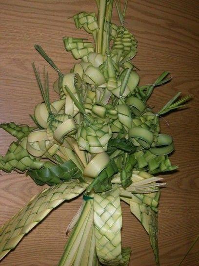 Palme Intrecciate Per La Tradizione Di Pasqua Wreathes Pinterest