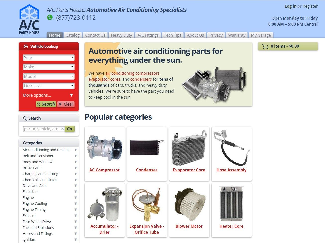 Ac Auto Parts >> Ac Parts House Is A Wholesaler Of Automotive Ac Parts They Turned