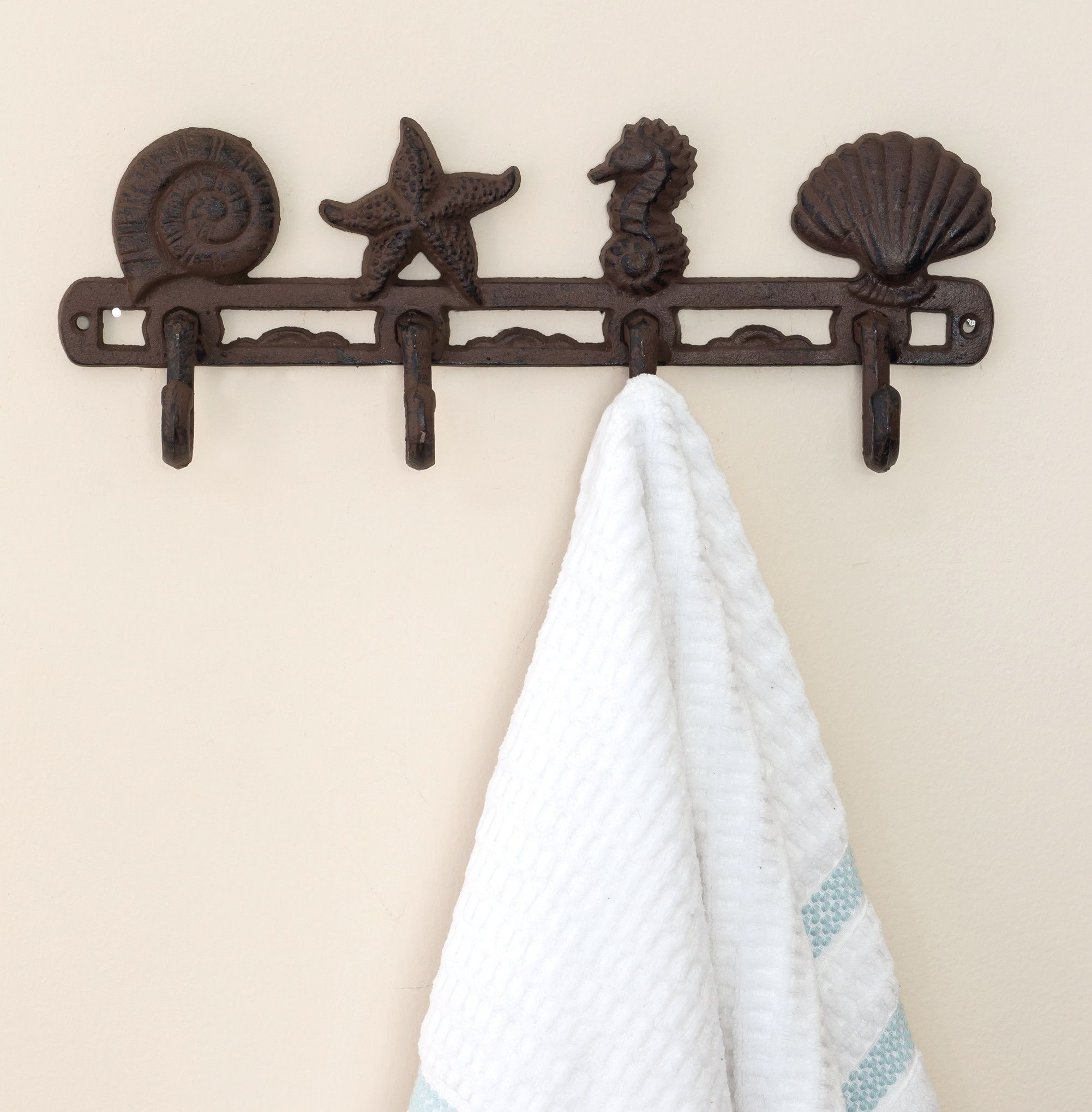 shopping iron line quotations rack on beach hook decorative cast find holder knots guides and cheap hooks towel deals get at lis with fleur wall de marine
