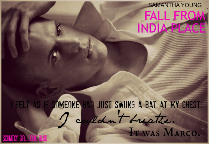 Blog Tour - FALL FROM INDIA PLACE by Samantha Young   Book boyfriends, Blog tour, Book girl