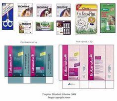 Resultado de imagem para embalagens medicamentos para imprimir e montar