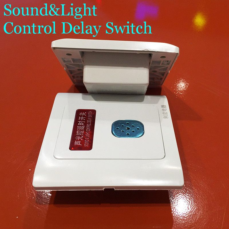 Newest electrical control switch delay switch 220v voice control ...