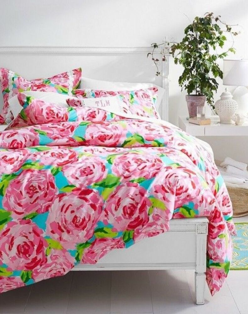 DUVET Lilly Pulitzer HPFI 🌹 HOTTY PINK FIRST IMPRESSION