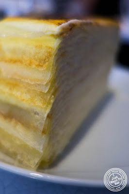 image of Lady M Mille Crêpe at Lady M Confections Bryant Park in NYC, New York