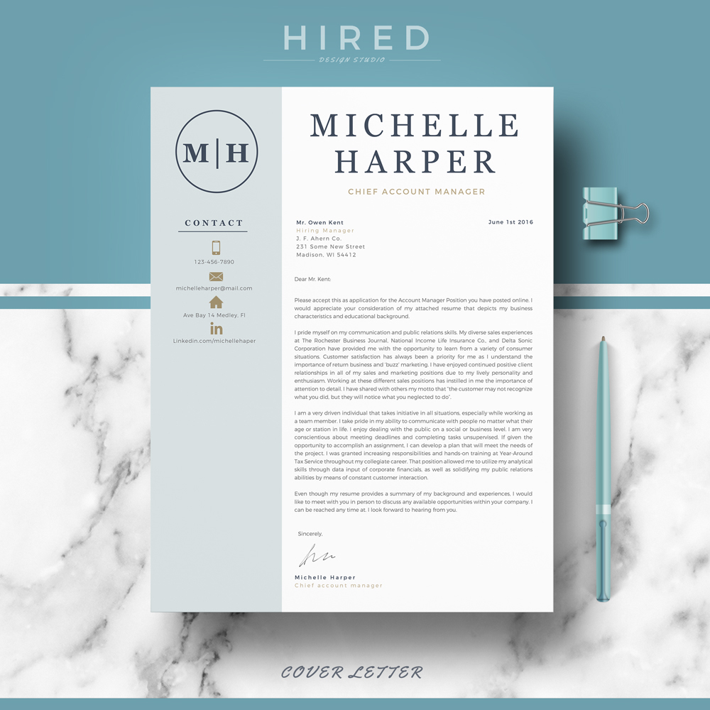 Michelle harper and resume sap functional cover letter